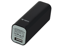 Compact Power Bank T-PB20B Black